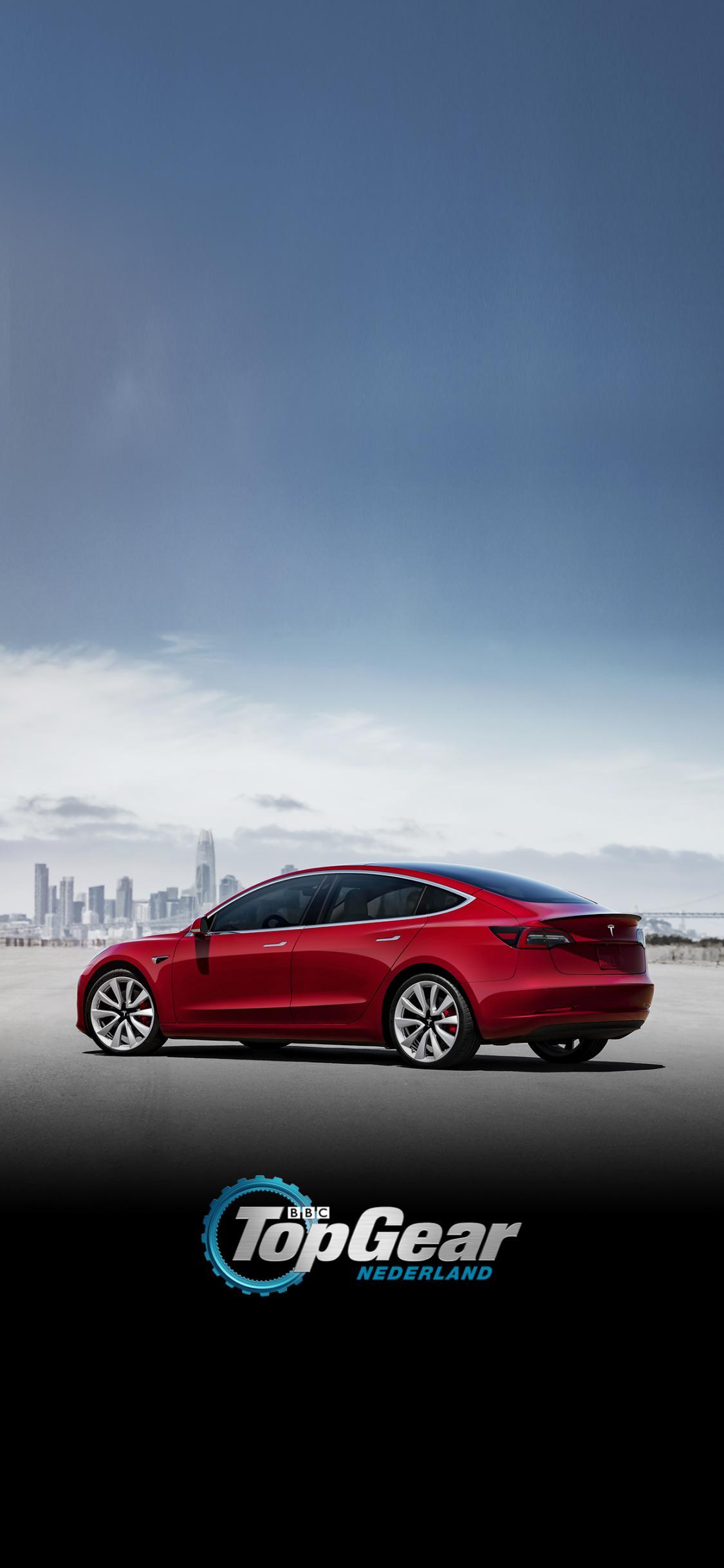 Tesla model 3 wallpaper desktop en mobiel topgear - Tesla wallpaper android ...
