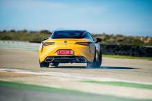 lexus lc coupe test drives 2017