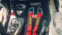 Meest extreme Porsche Cayman ter wereld stoel corbeau