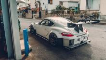 Porsche Cayman diffuser spoiler