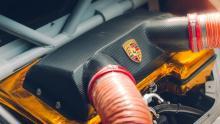 Meest extreme Porsche Cayman ter wereld koolstofvezel