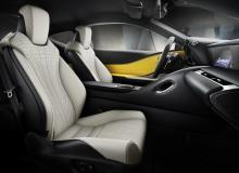 Lexus LC Flare Yellow
