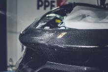 Zwarte Ferrari 488 Pista folie xpel