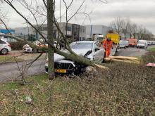 Mercedes-amg gt 63 s crash nederland