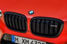 BMW X4 M grille nieren