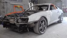 toyota supra fast and furious replica bouw