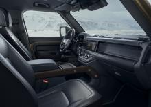 Land Rover Defender 2019 dashboard