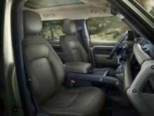 Land Rover Defender 2019 stoelen