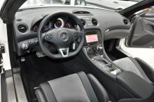 Mercedes SL 65 Black Series interieur dashboard
