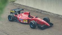 F1 auto Mike O'Connor Ferrari 412 T2