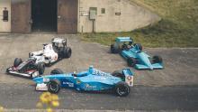 F1 auto Mike O'Connor Sauber C30 Ferrari 412 T2 March 871 zij