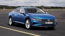 Volkswagen Arteon Facelift 2020 blauw