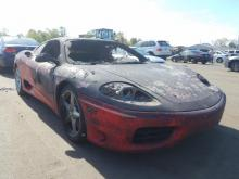 Ferrari 360 Modena Brandschade