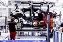 Audi RS e-tron GT 2020 in de fabriek