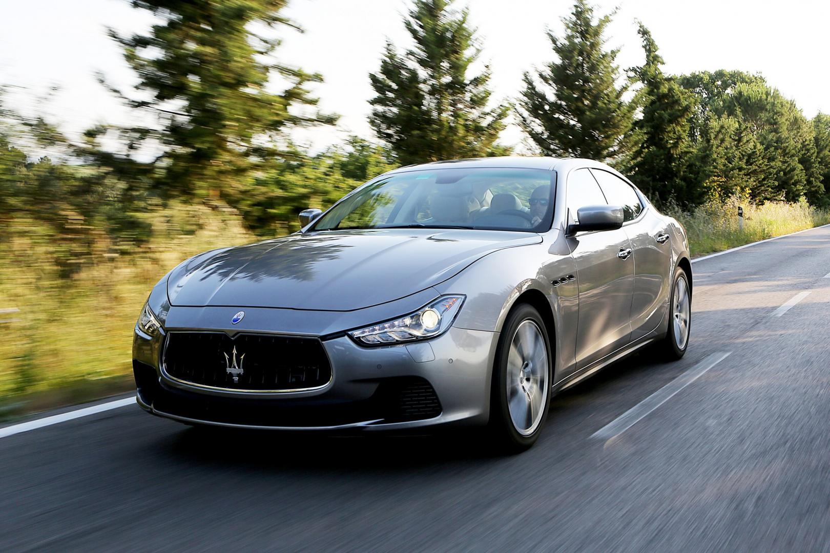 Maserati Ghibli Diesel (2013) - test en specificaties ...