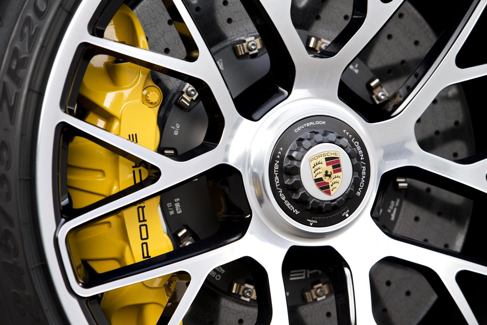 Porsche 911 Turbo 2013 keramische remschijf remklauw