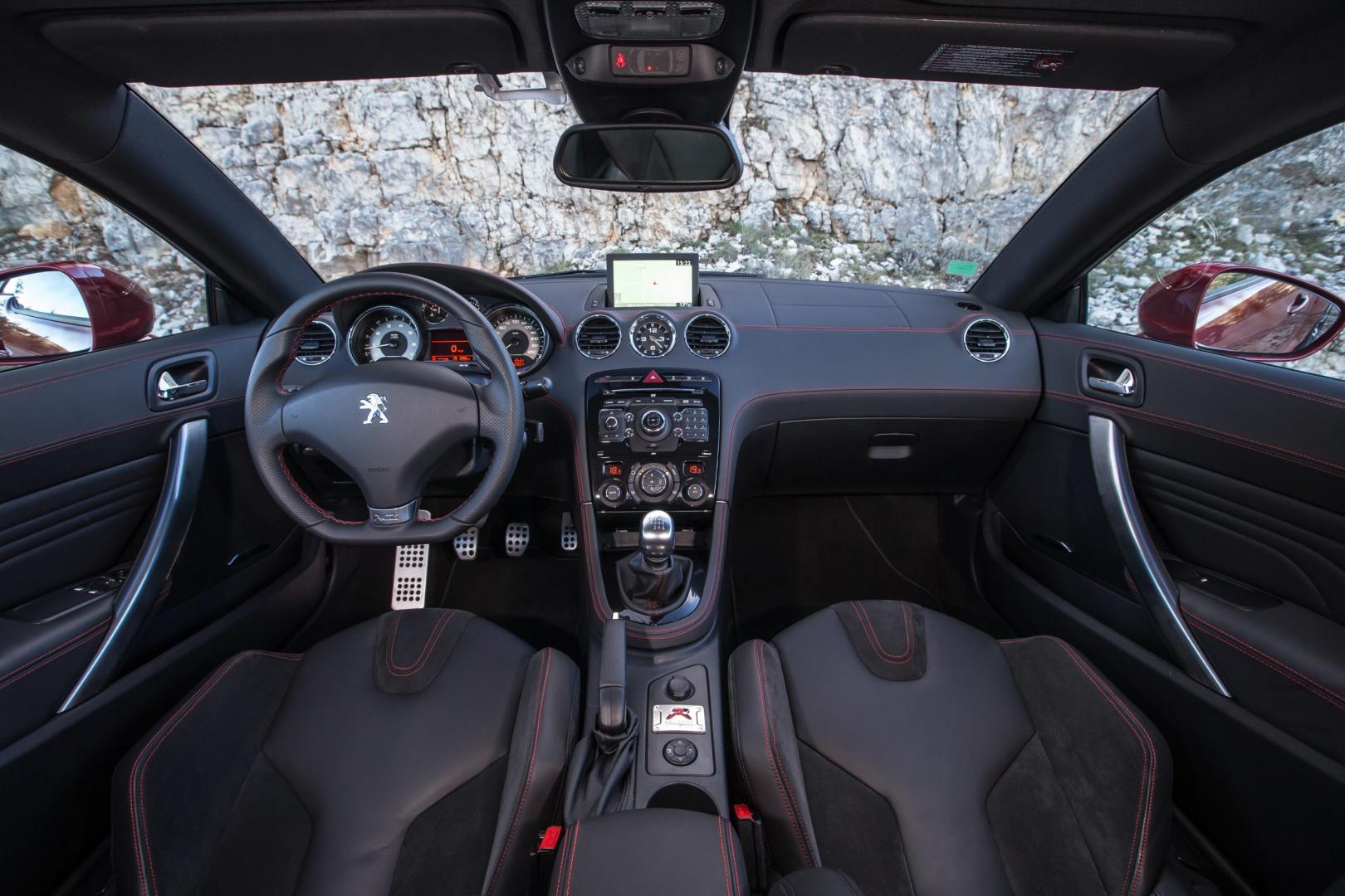 Peugeot RCZ R interieur (2014)