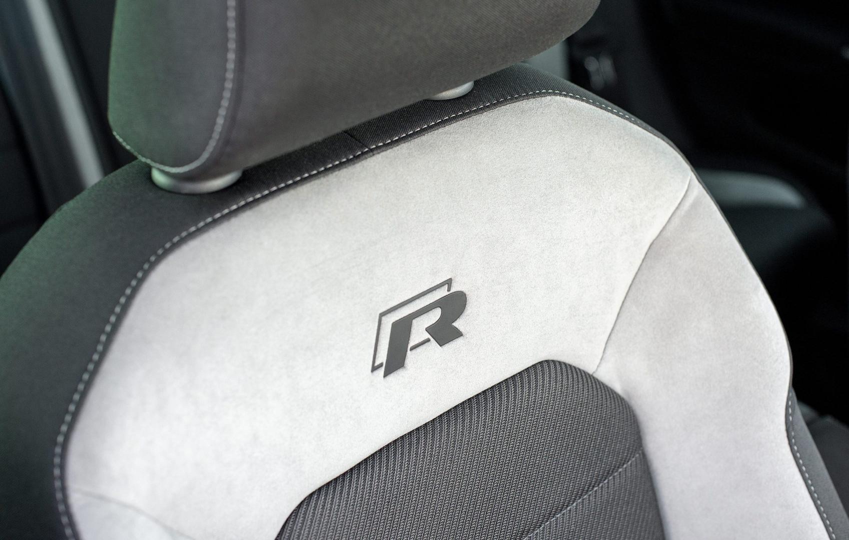 Volkswagen Golf R stoel 2015