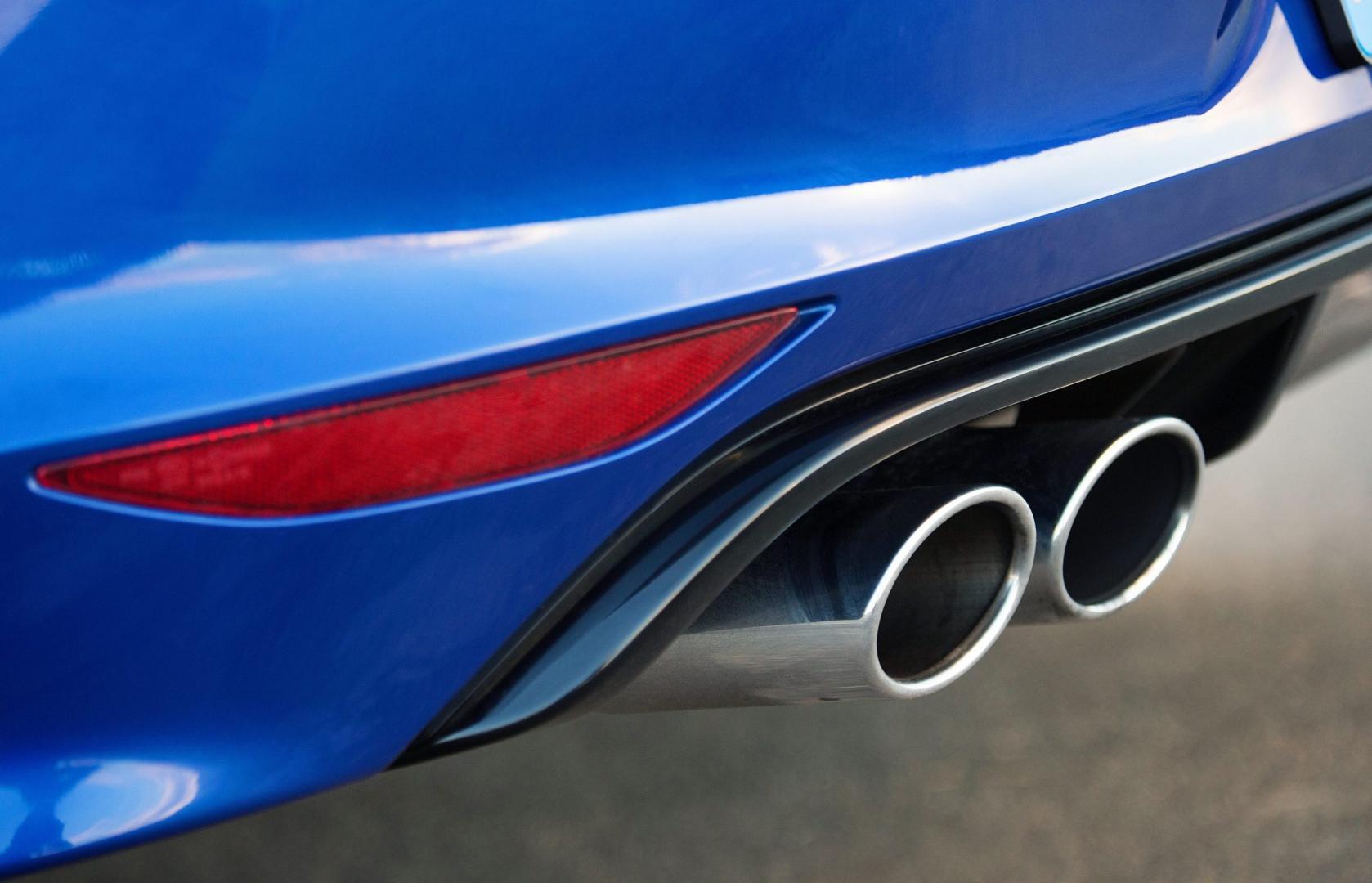 Volkswagen Golf R uitlaten