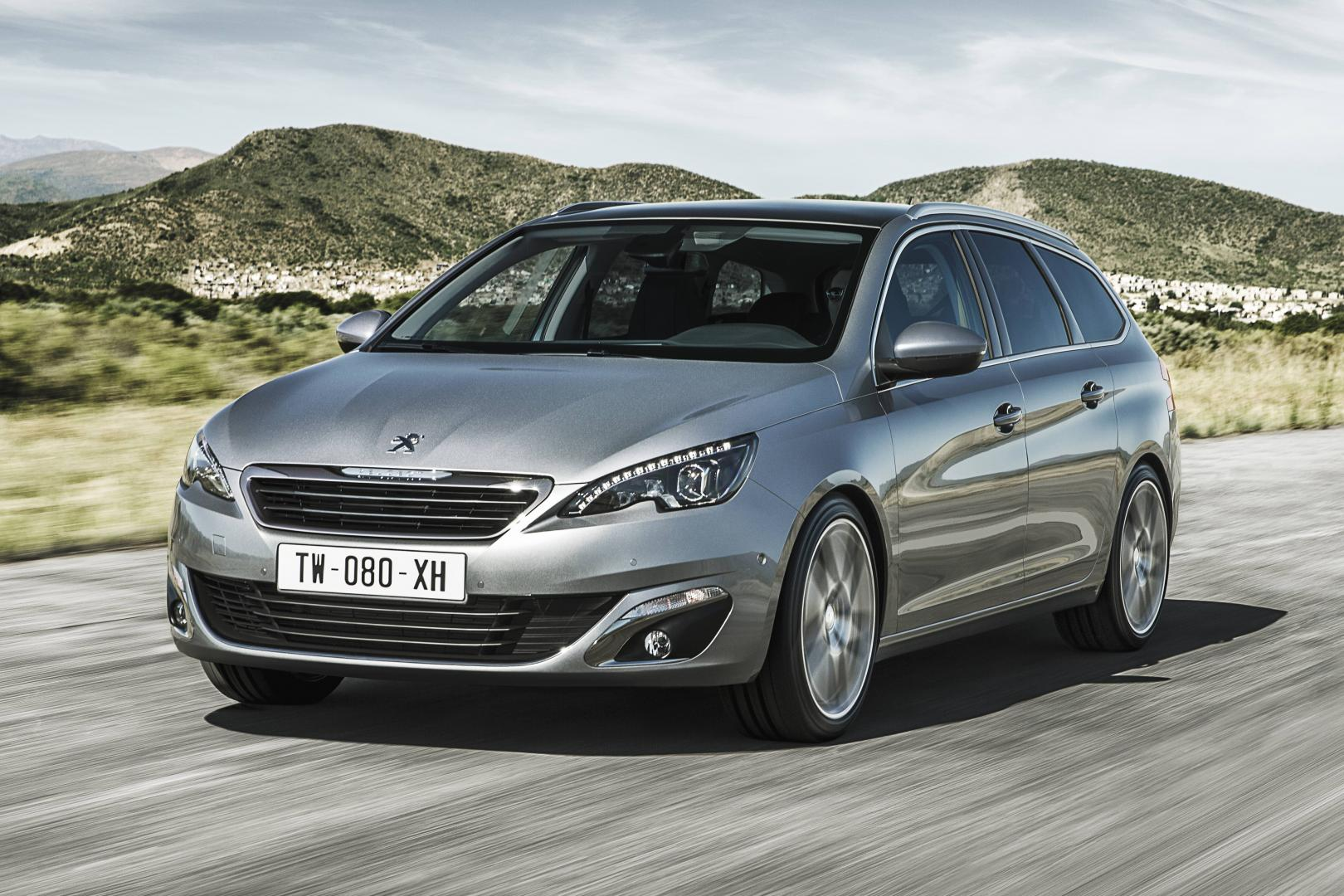 peugeot 308 sw e thp 2014 test en specificaties topgear. Black Bedroom Furniture Sets. Home Design Ideas
