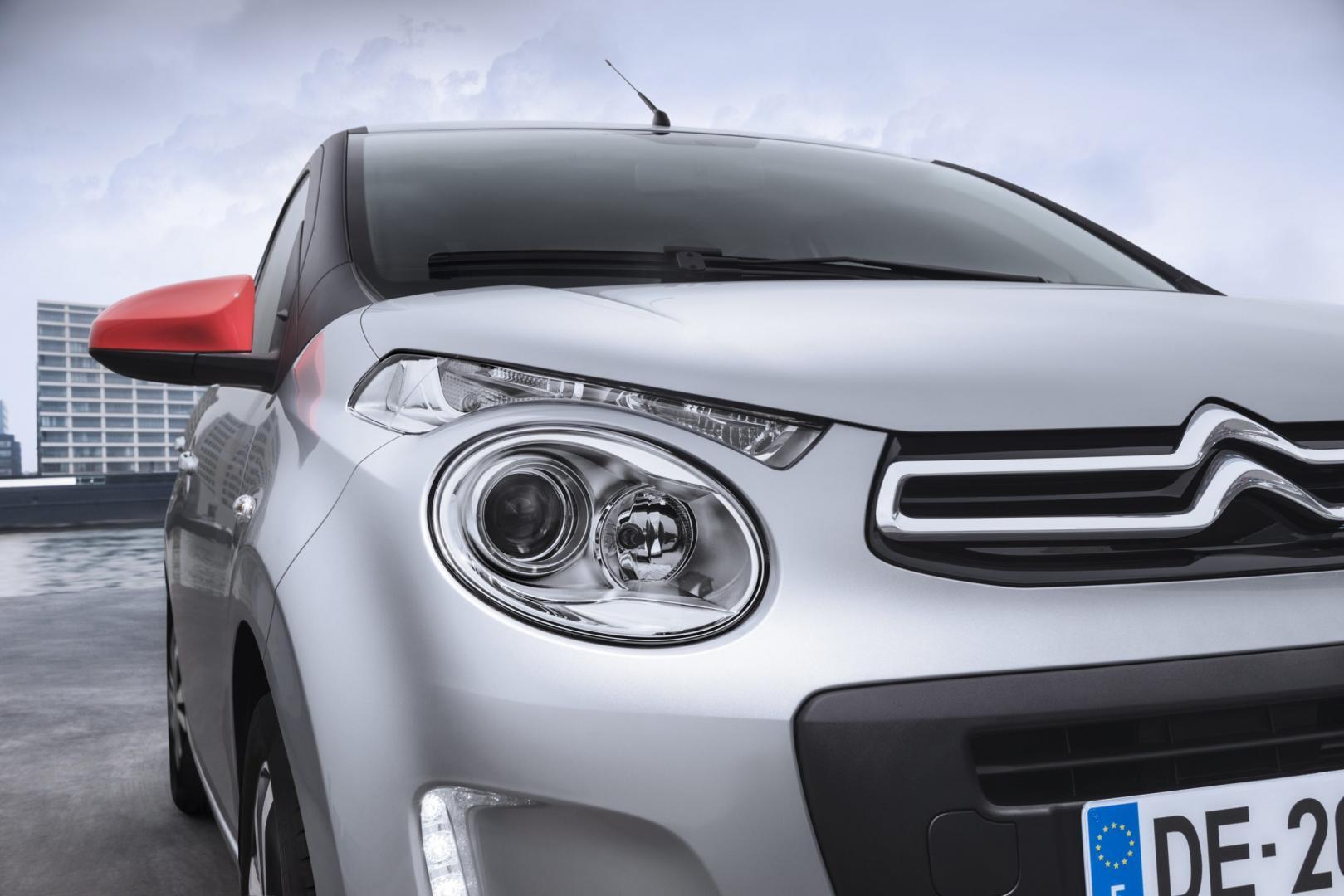 Citroën C1 VTi (koplamp)