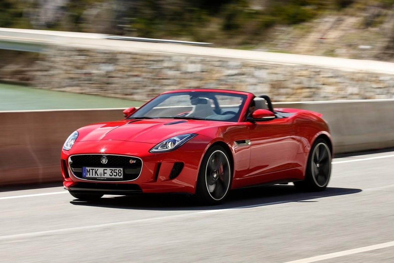 jaguar f type v8 s convertible test en specificaties topgear. Black Bedroom Furniture Sets. Home Design Ideas