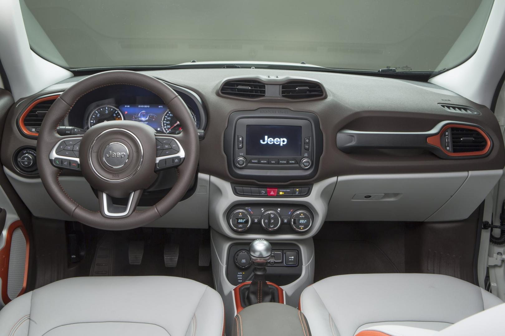 Jeep Renegade 2.0 Limited 4WD interieur (2014)