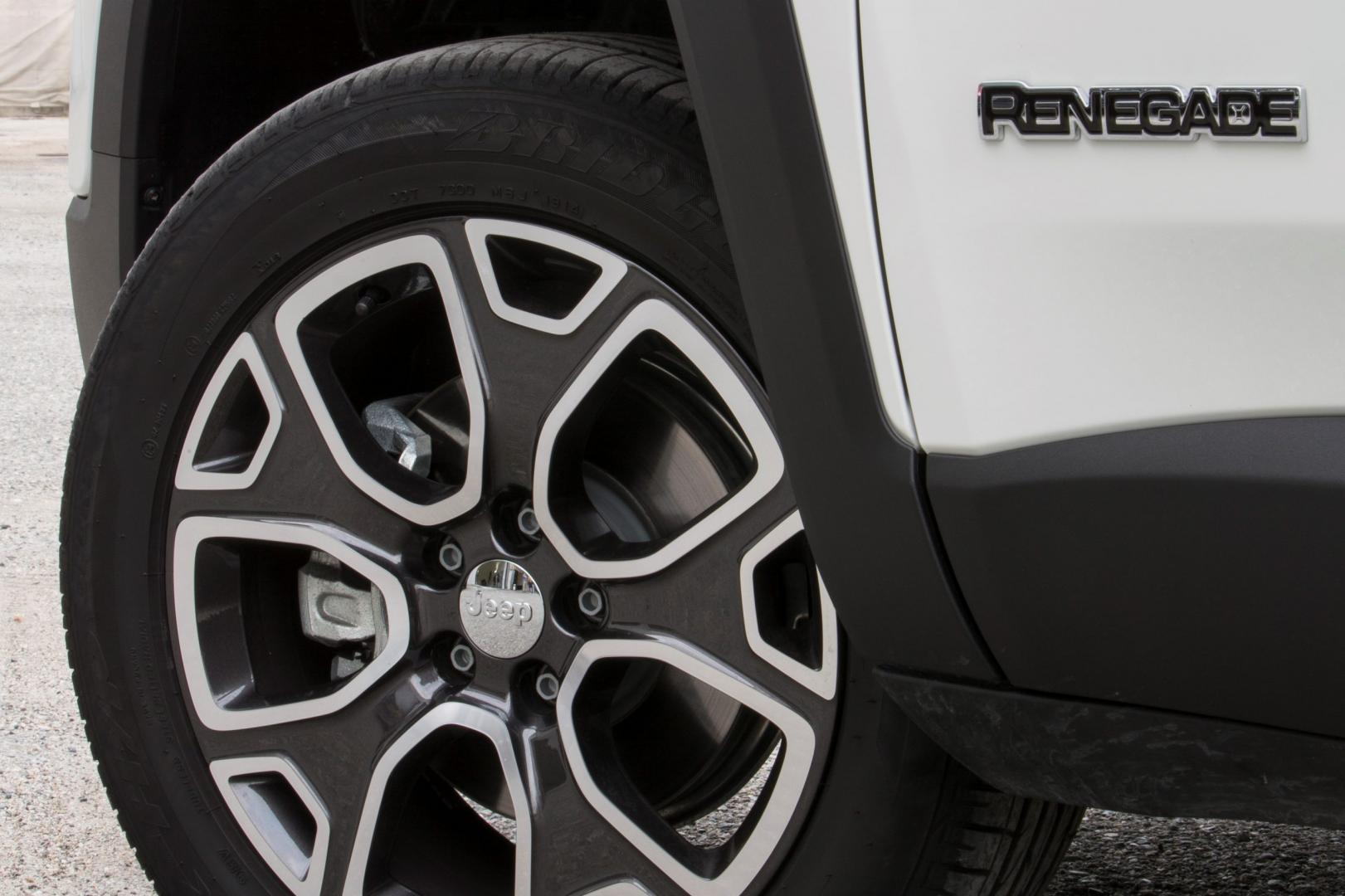 Jeep Renegade 2.0 Limited 4WD velg (2014)