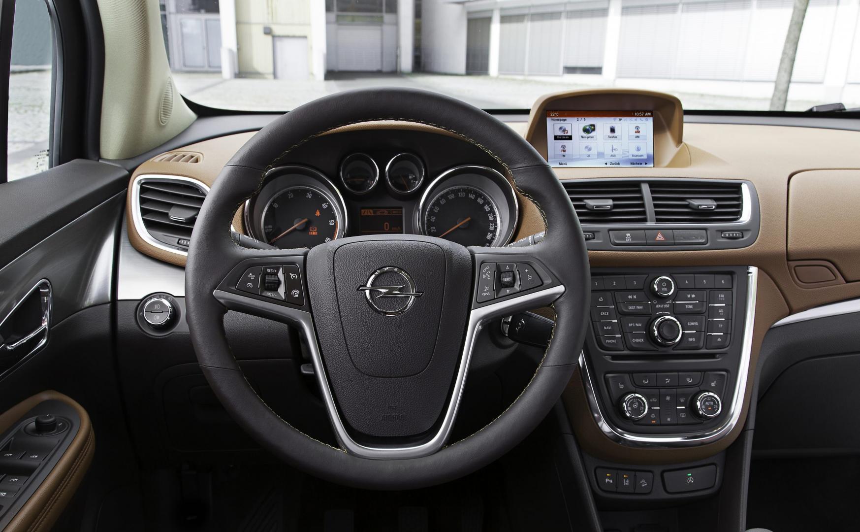 Opel Mokka interieur (2015)