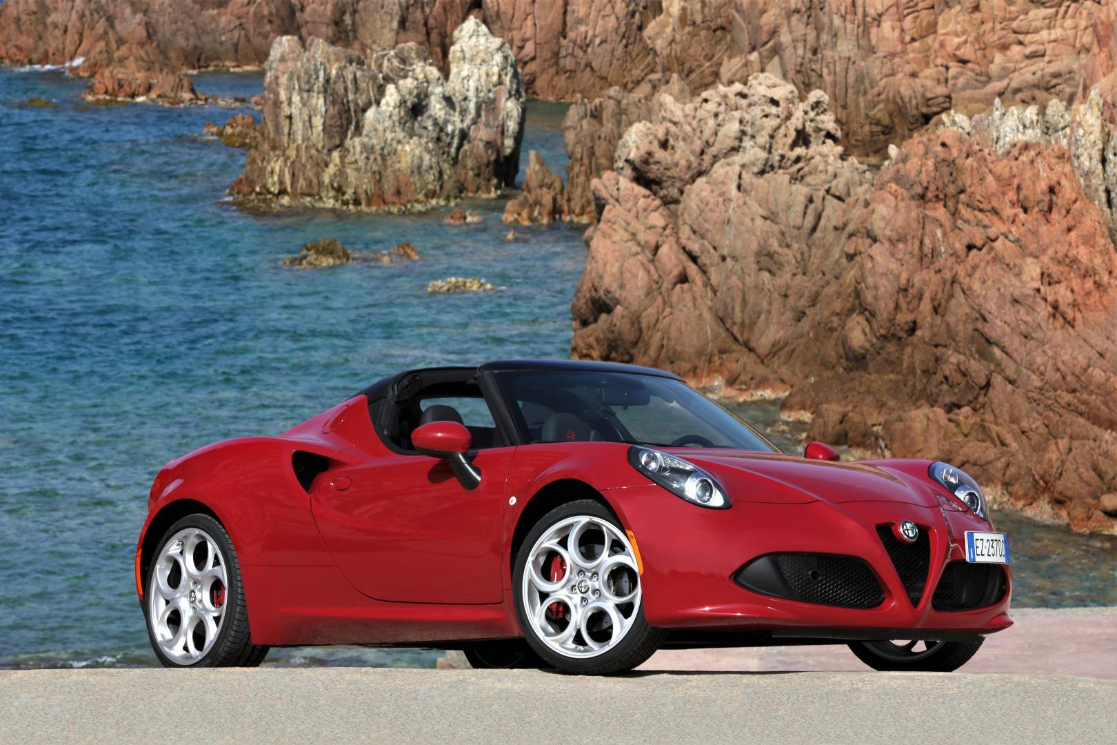 Alfa Romeo 4c Spider 2015 Test En Specificaties Topgear Nederland