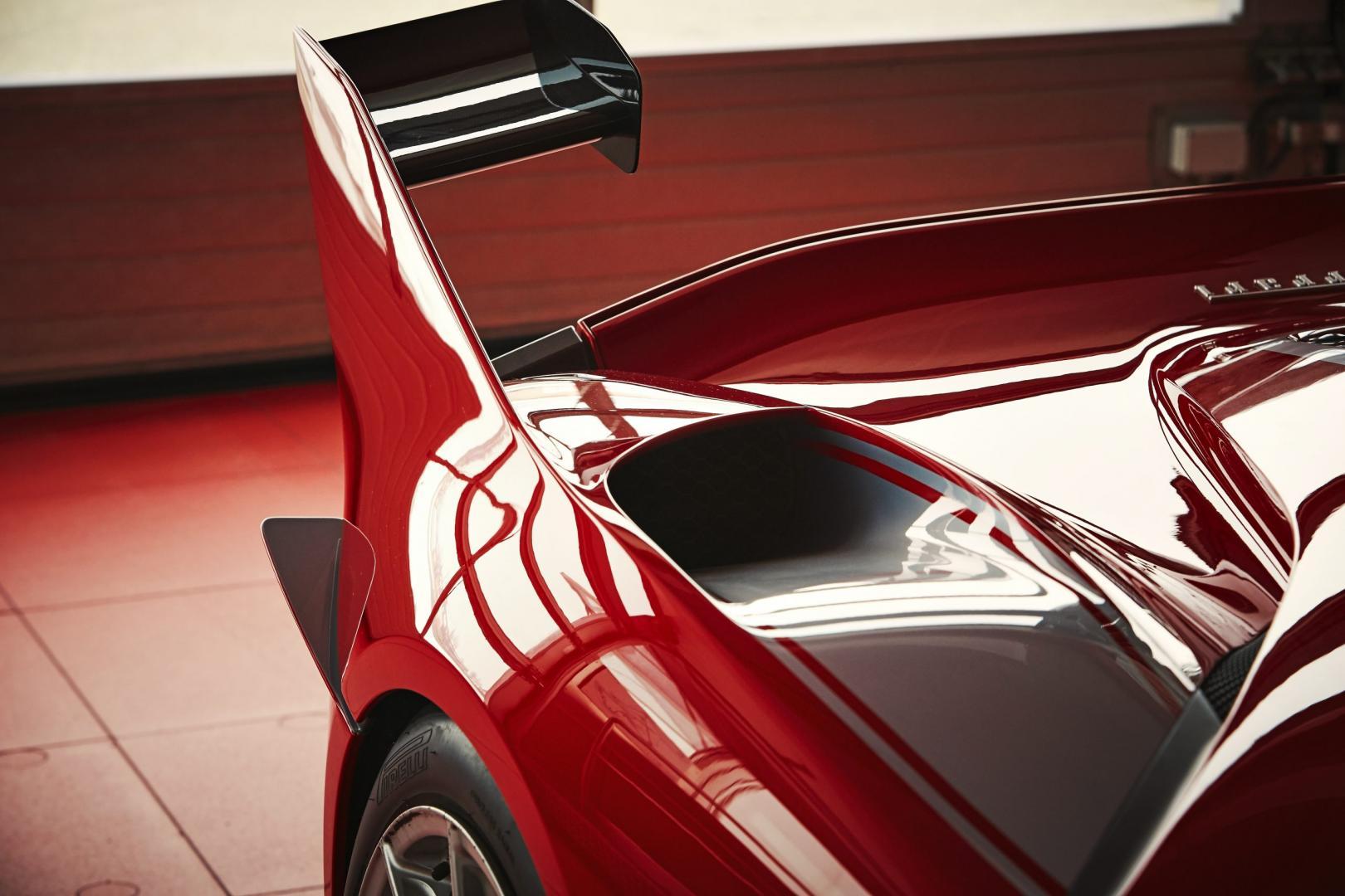 Ferrari FXXK spoiler (2015)