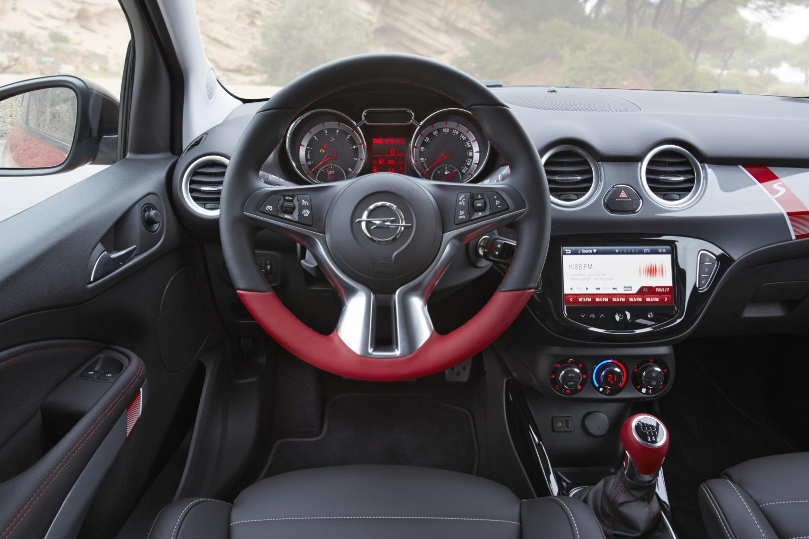 opel adam s 1 4 turbo 2015 test en specificaties. Black Bedroom Furniture Sets. Home Design Ideas