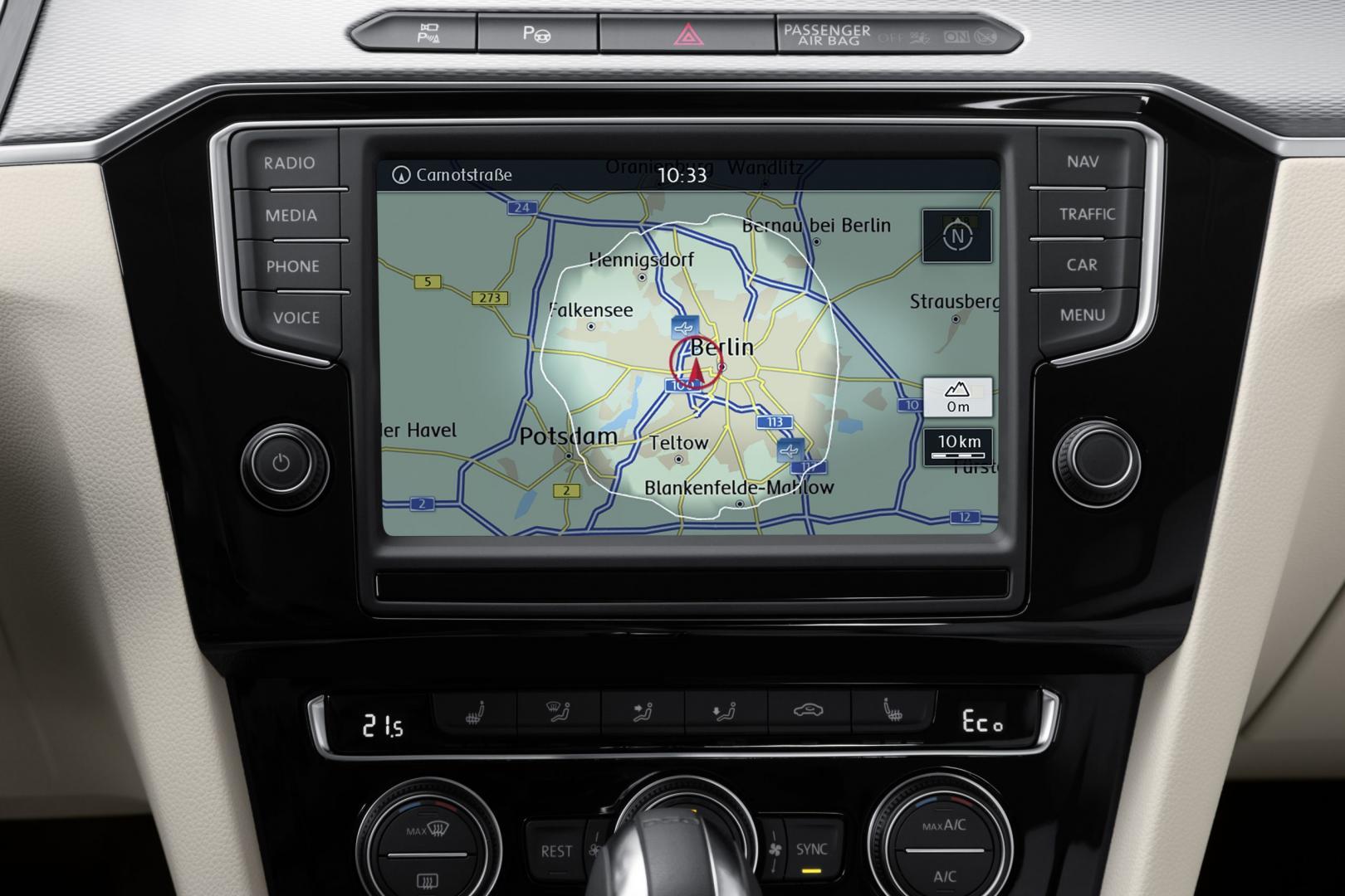 Volkswagen Passat GTE 2015 navigatiesysteem