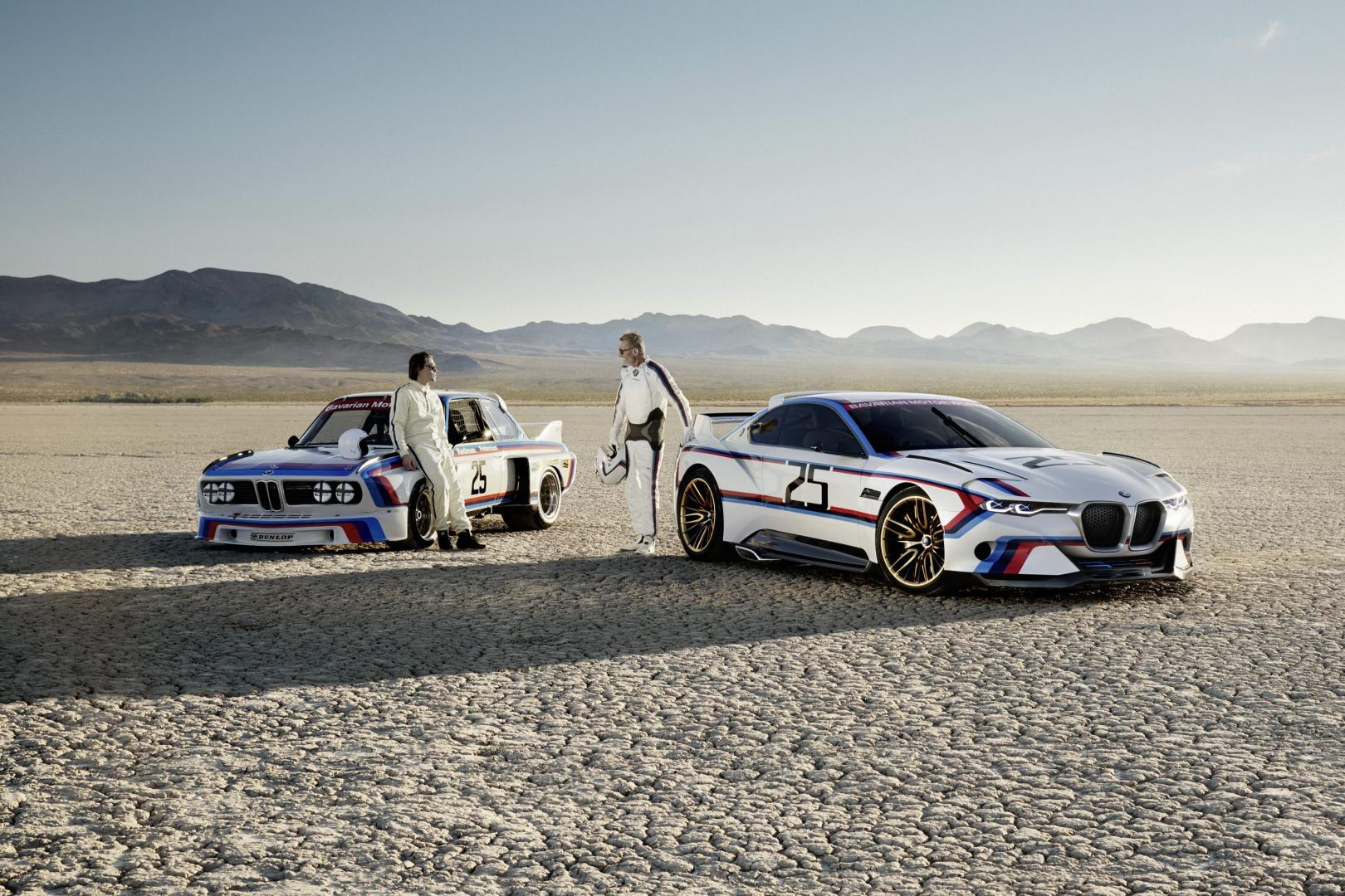 BMW 3.0 CSL Hommage R is extreem cool