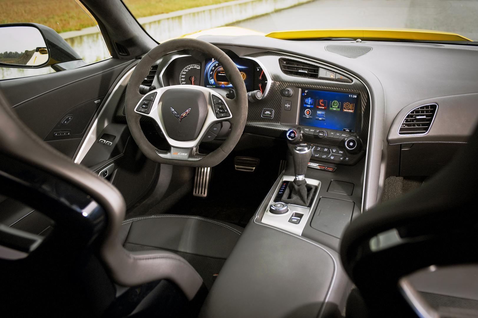 Chevrolet Corvette C7 Z06 interieur (2015)