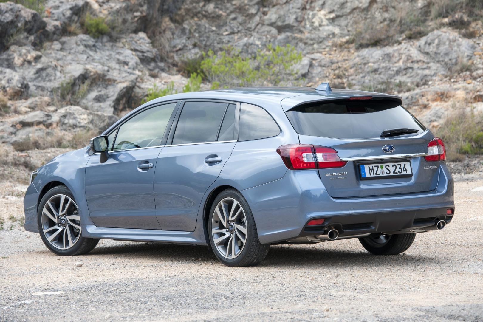 Subaru Levorg 1.6 GT-S Premium (2015)