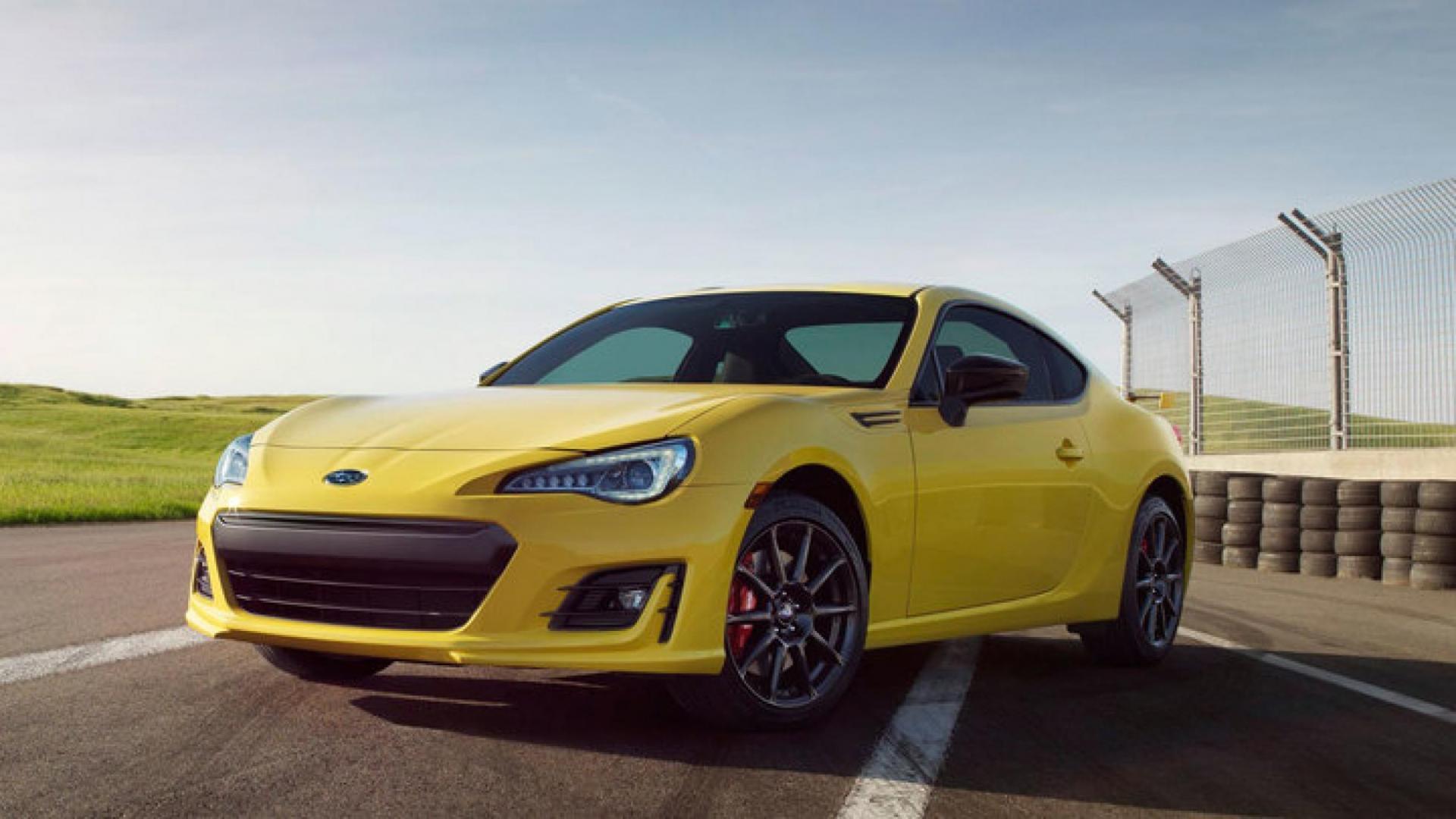 Subaru BRZ ZSeries Yellow 2017