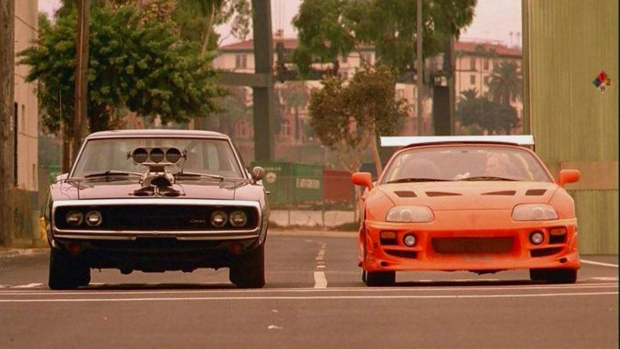 fast and furious supra charger