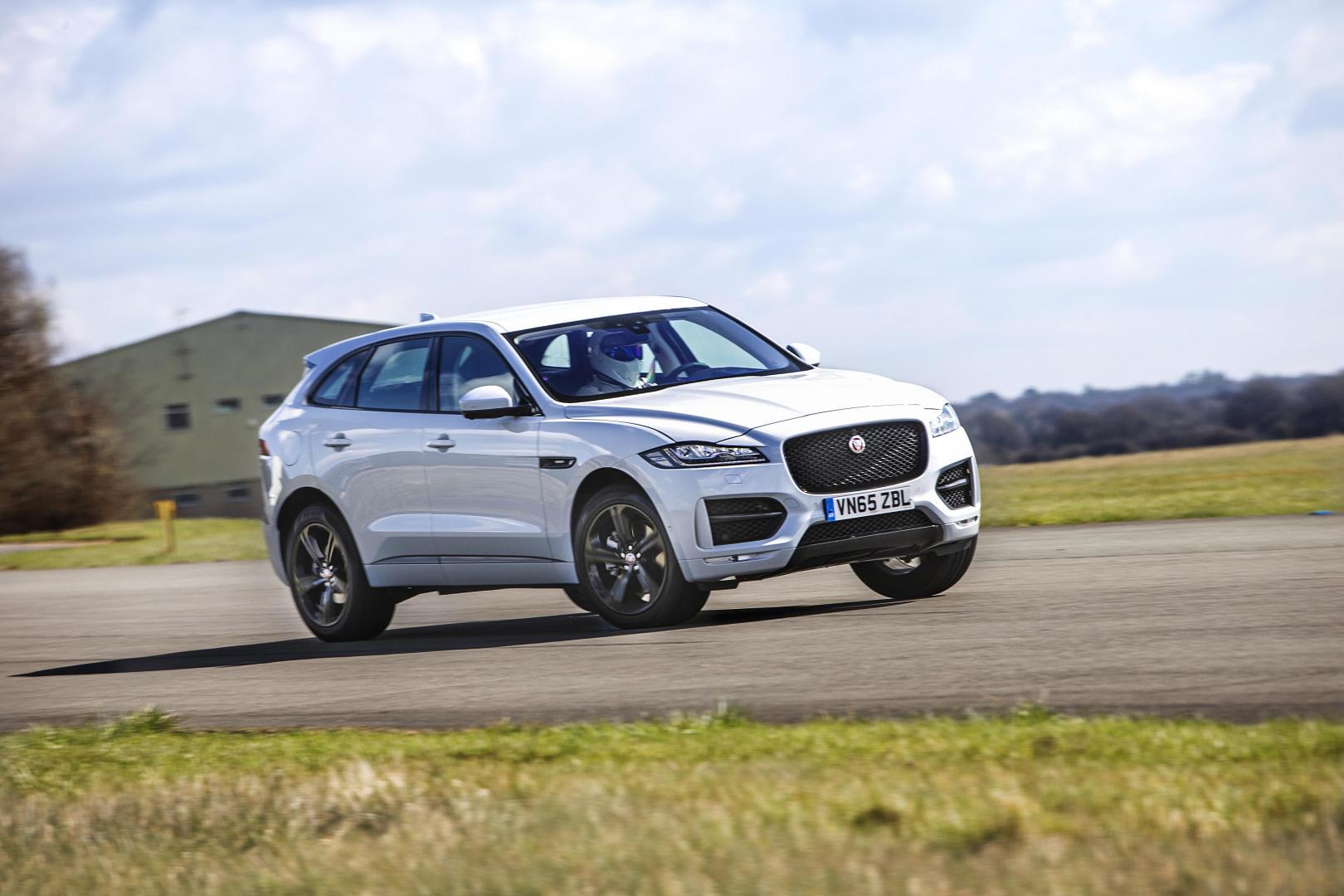 Jaguar F-pace topgear seizoen 23