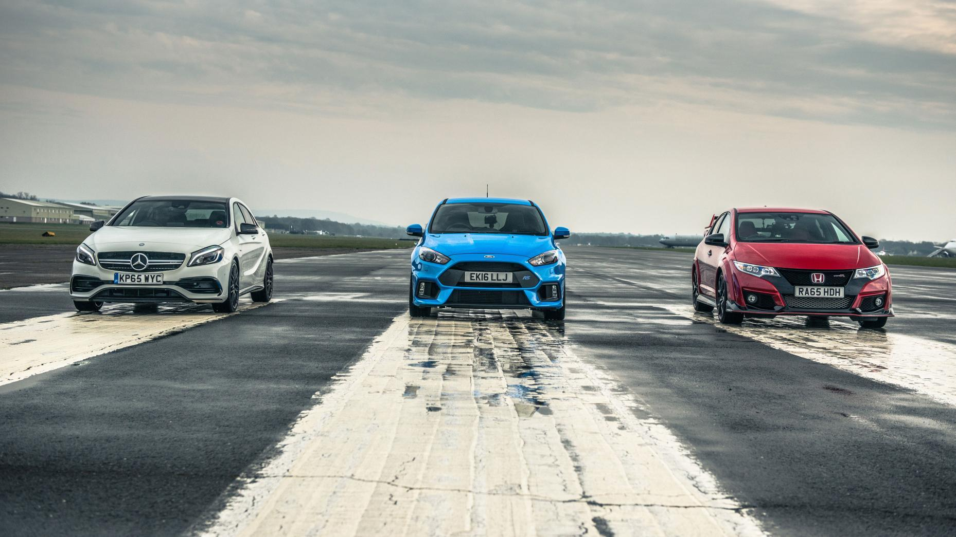 TopGear Ford Focus RS tv-show