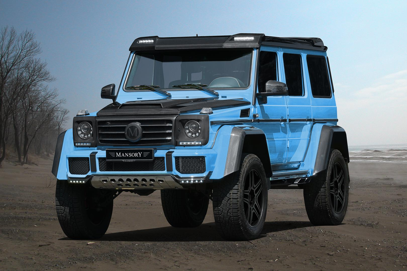 mansory mercedes g 500 4x4 2 subtiel en mooi. Black Bedroom Furniture Sets. Home Design Ideas