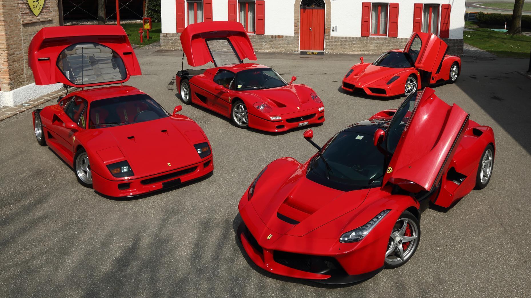 meest iconische supercars
