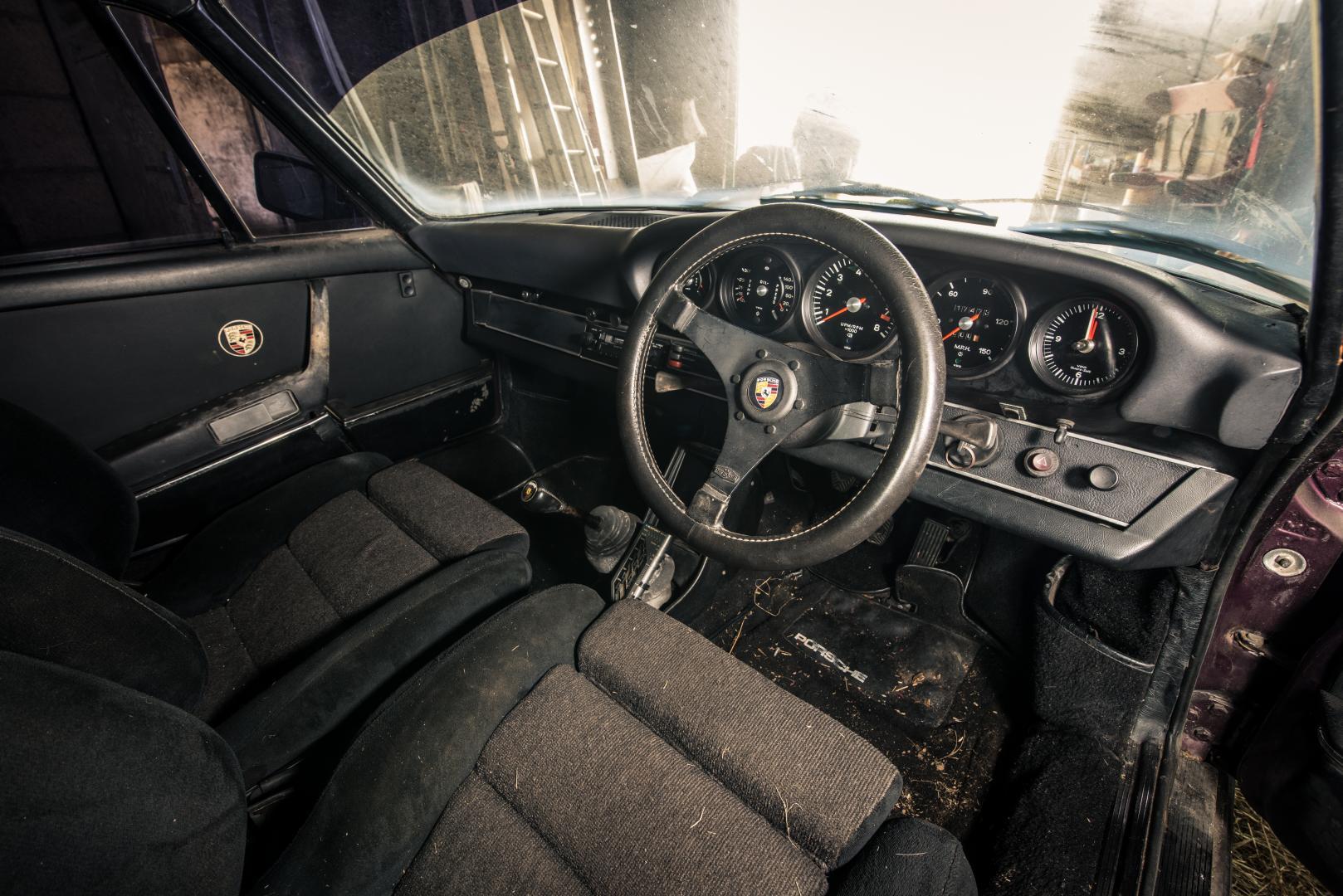 Porsche 911-schuurvondst