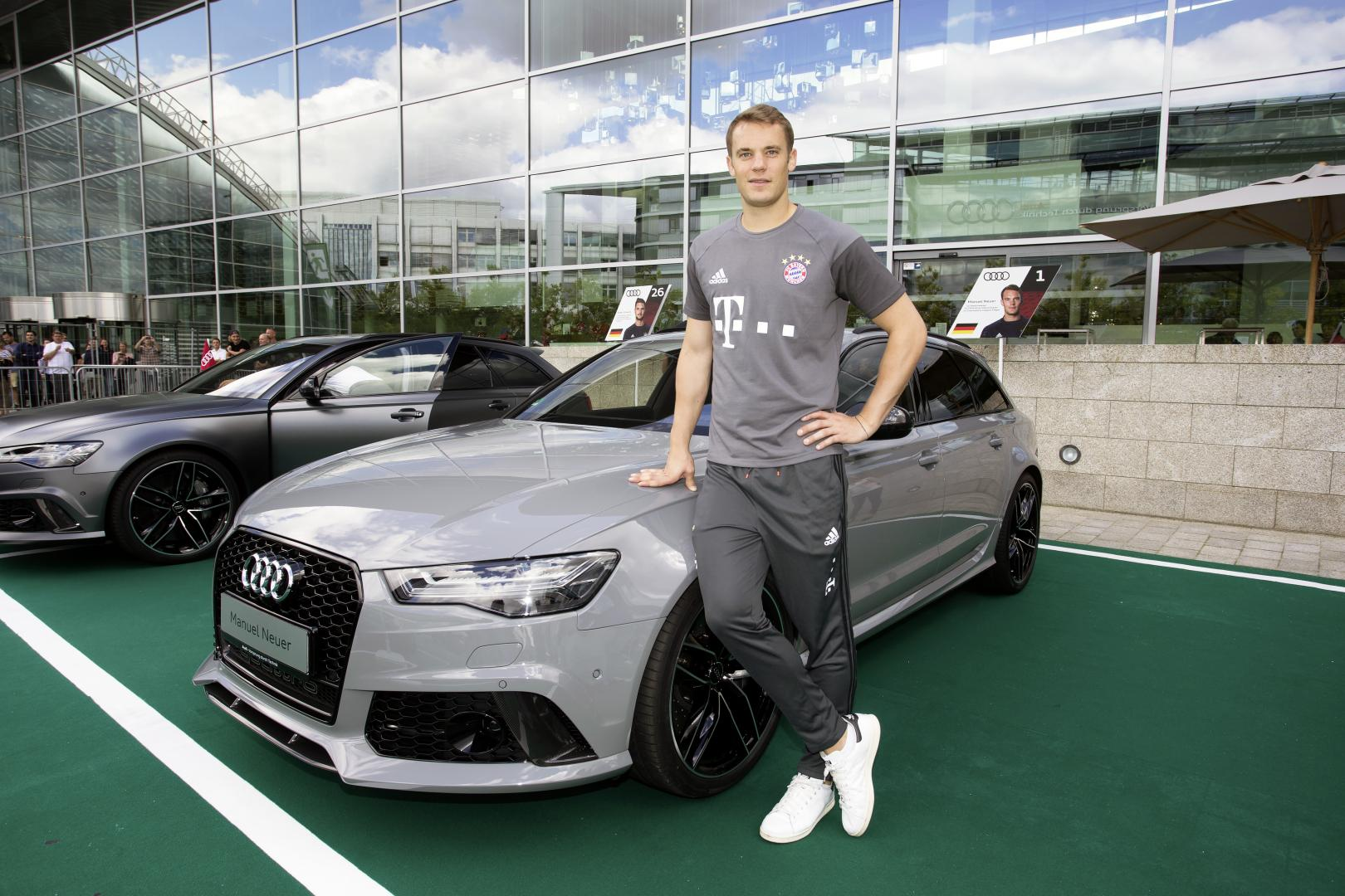 De Auto S Van De Voetballers Van Fc Bayern