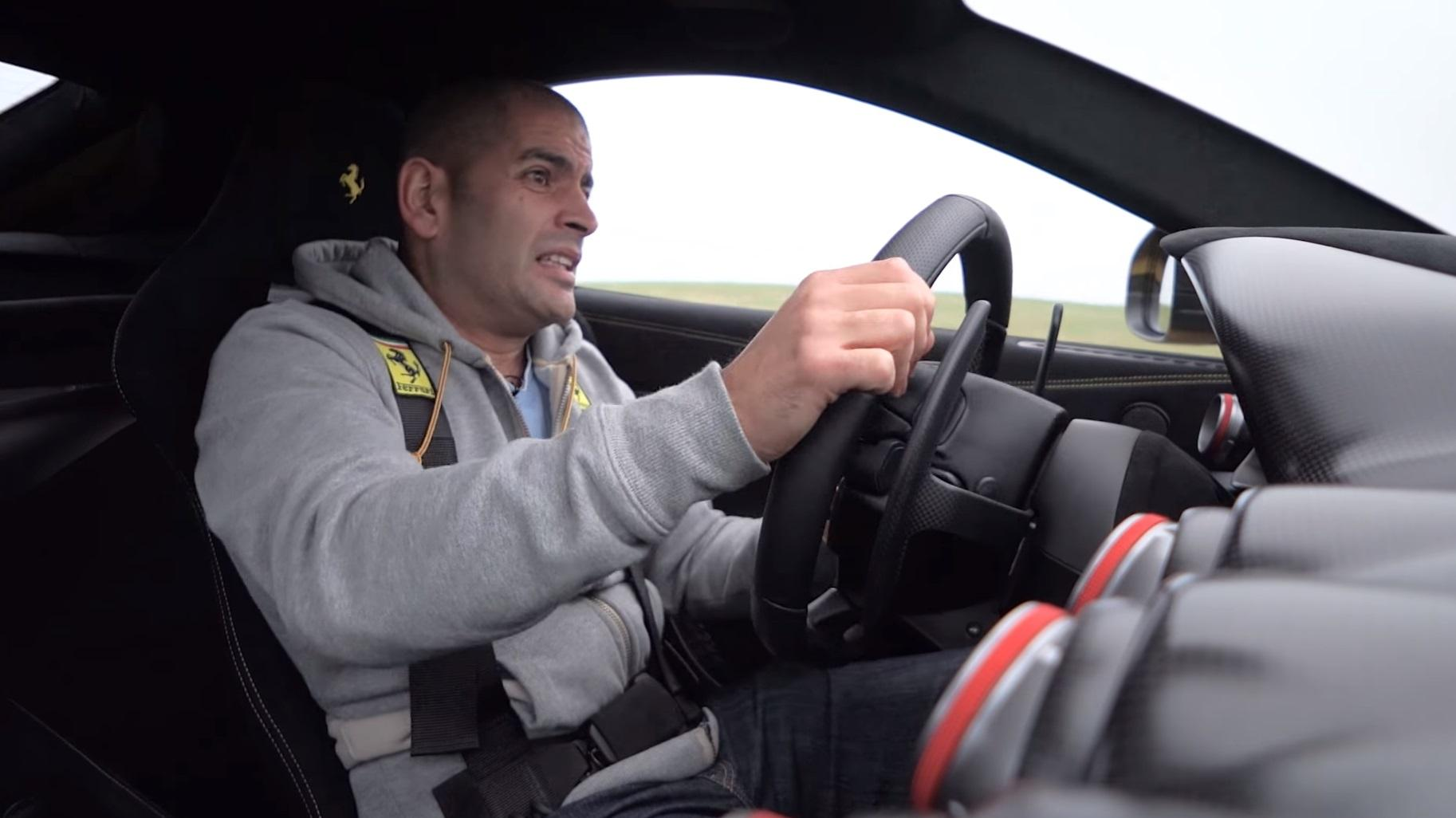 Chris Harris Drives Ferrari F12tdf