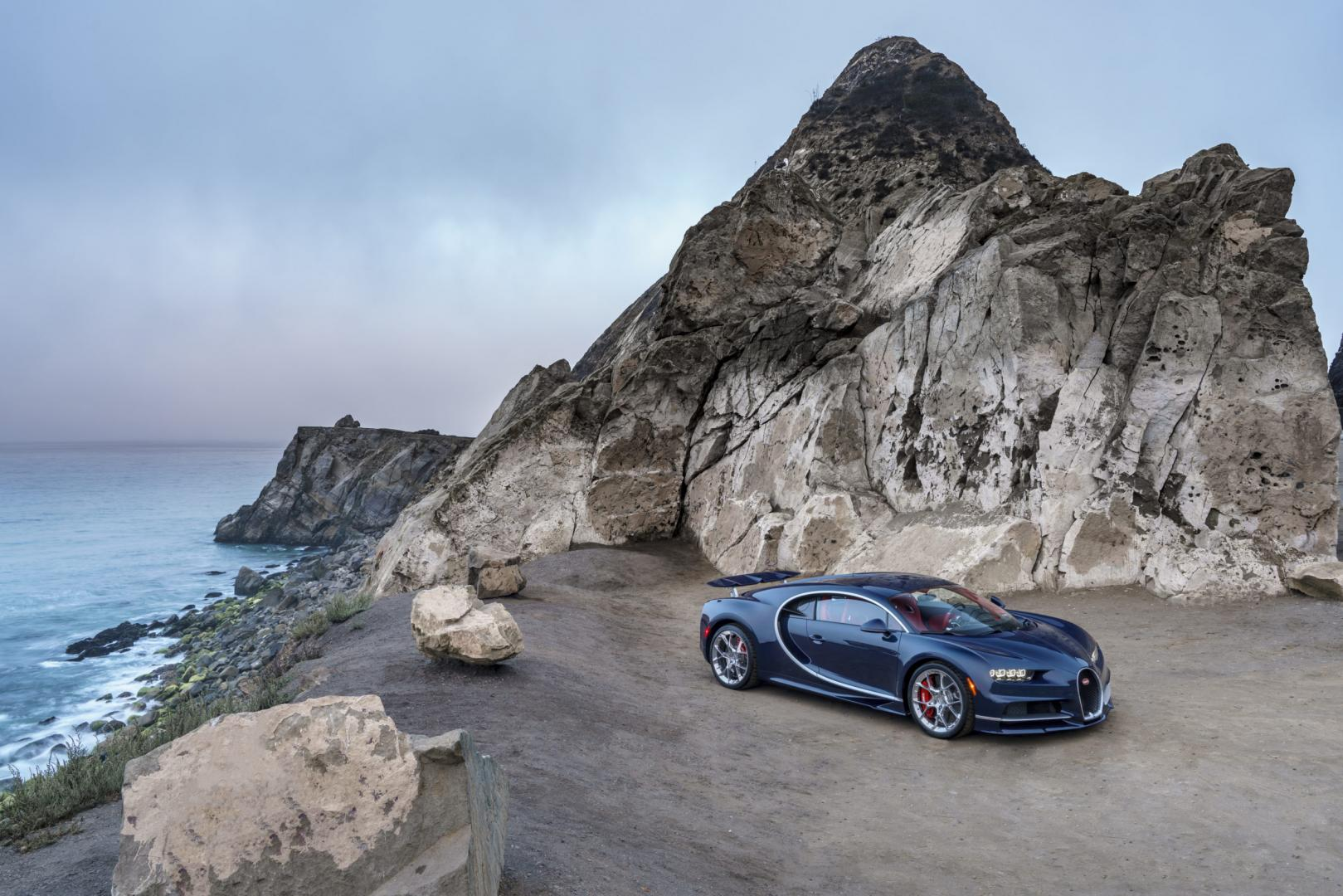 Bugatti Chiron in Californië