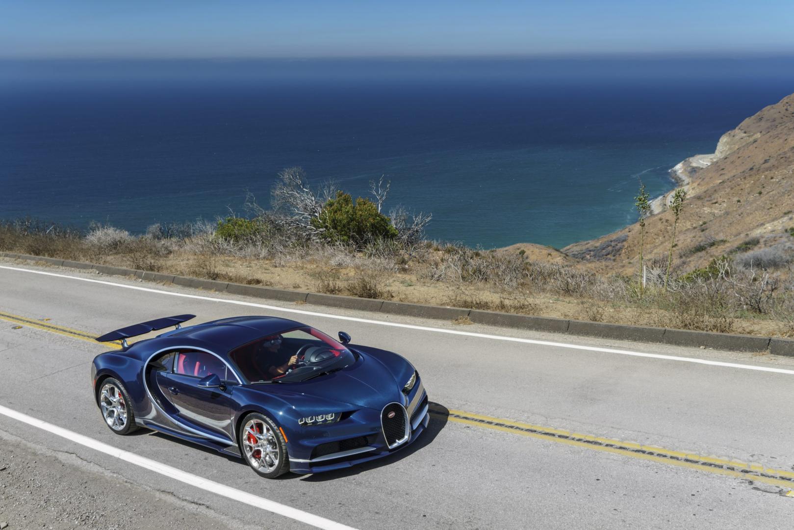 Bugatti Chiron in Californie