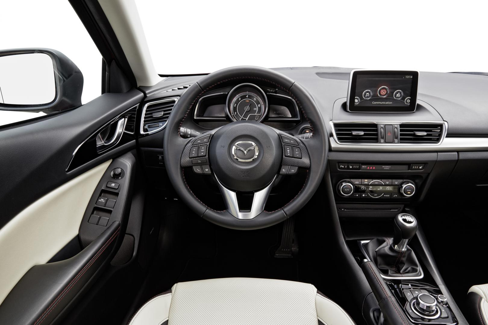 mazda 3 skyactiv d 105 skylease gt rijtest en specificaties. Black Bedroom Furniture Sets. Home Design Ideas