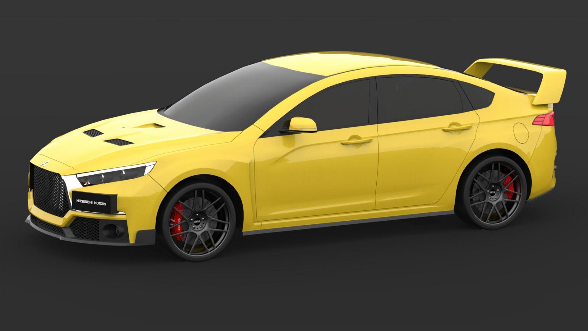 Moet dit de Mitsubishi Evo XI worden? - TopGear