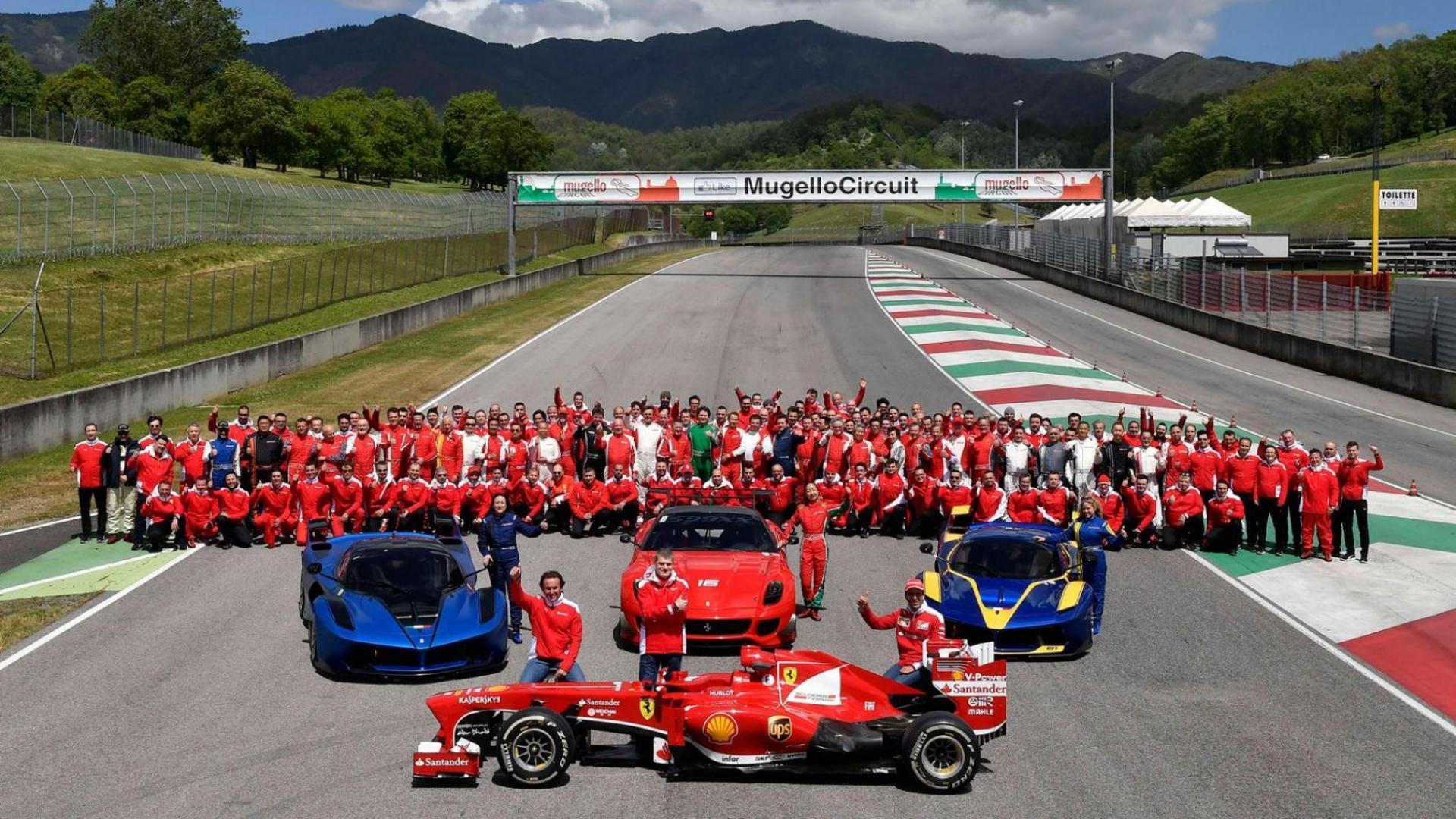 Snellere Ferrari Fxxk Een Evoluzione Versie Is Niet